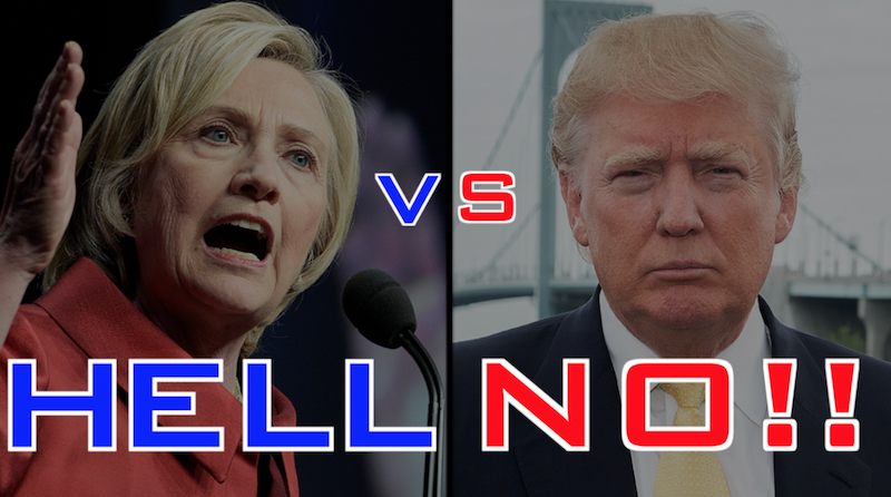 Clinton-Vs-Trump-Hell-No